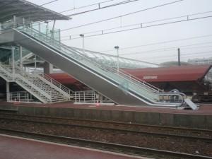 La nouvelle passerelle de Massy-Palaiseau