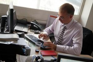 Bertrand Gosselin, Directeur du RERC, pendant le Tchat des Jeudis de la Ligne C