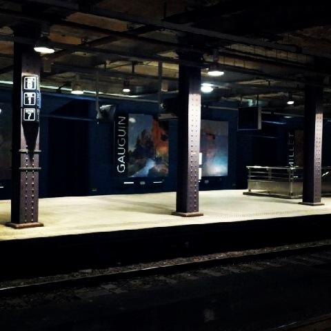 La fin des travaux en gare de Musée d\'Orsay