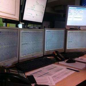 Poste de travail au Centre Opérationnel Transilien RER C - SNCF Transilien