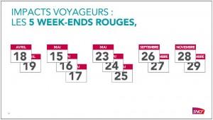 week end rouge