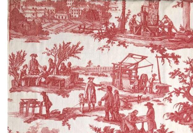 Travaux de la Manufacture © Coll. Musée de la Toile de Jouy